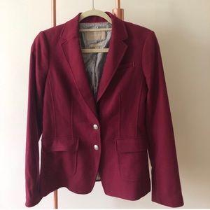Banana Republic Italian Wool Blend lined jacket